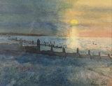 Tankerton sunset - Robin Pates
