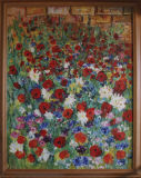 Poppies and other wild flowers Barbara Drinkwater
