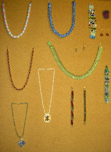 Sample of Jewellery, Joyce Male