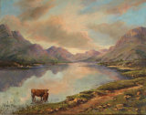 Scottish Loch, Wendy Mills