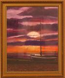 Sunset from the Horsebridge - Gill Rankine