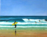 Surfers, Muriel Haseltine