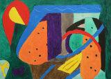 Abstract, bird, dog, monster - Brenda Thomas
