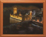 View from the London Eye at Night, Janet Drewitt