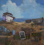 Boats at Deal, Wendy Mills