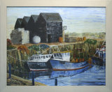 Whitstable Harbour, Yvonne Gambrill