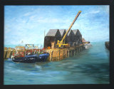 Whitstable Harbour, Jean Markham