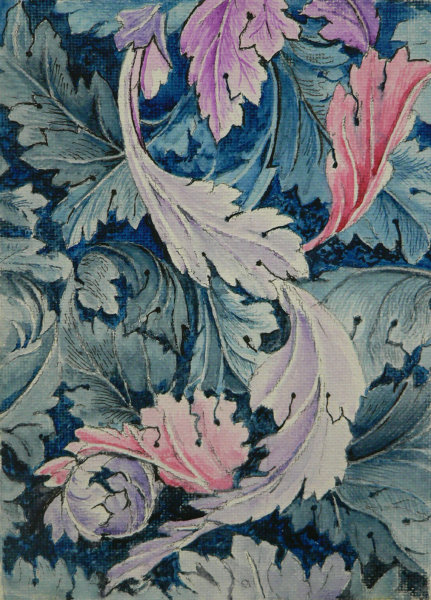 William Morris design - close up