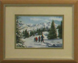 Winter Skiing, Robert Male
