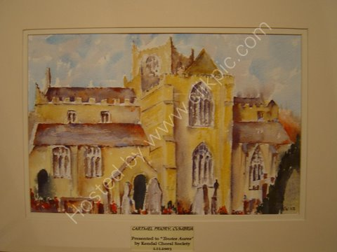 Cartmel Priory presented to Toutes Aures