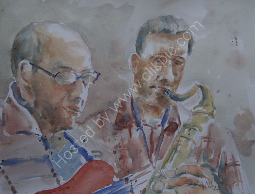 Tim Franks Quartet at Burgundy's 27 Sept 2012