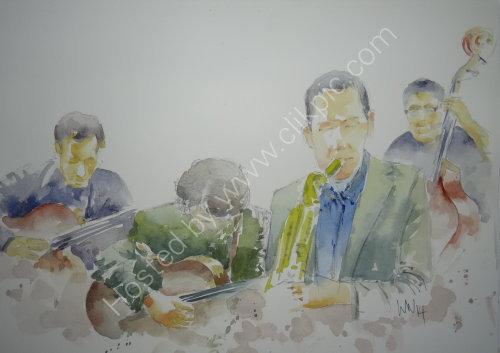 The Trevor Owen Quintet, Burgundy's 17 April 2014
