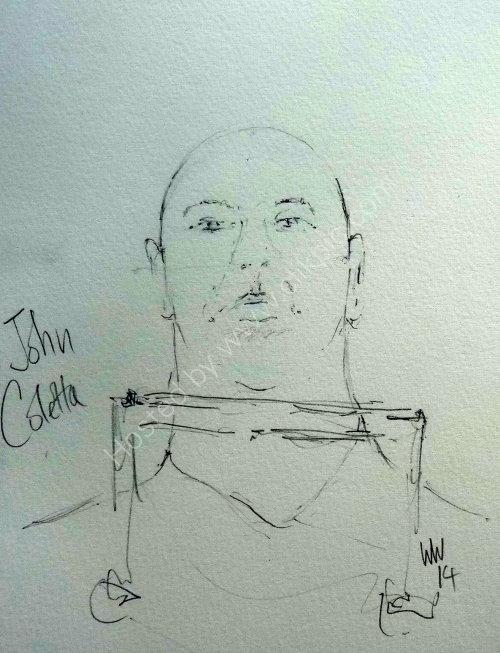 John Coletta, 2014 Moniaive Folk Festival