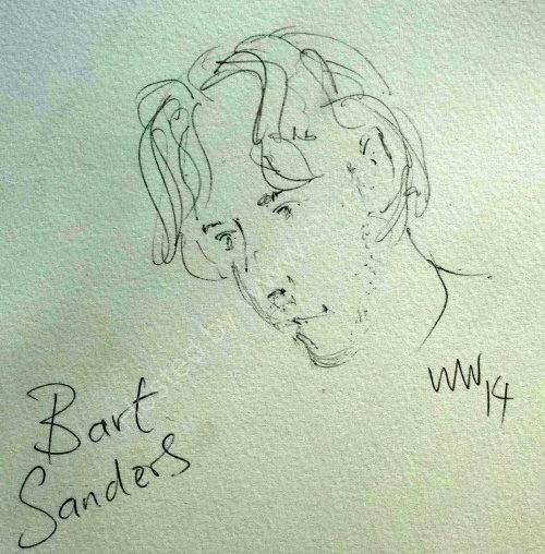 Bart Sanders, 2014 Moniaive Folk Festival