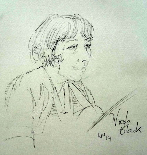 Nicola Black, 2014 Moniaive Folk Festival