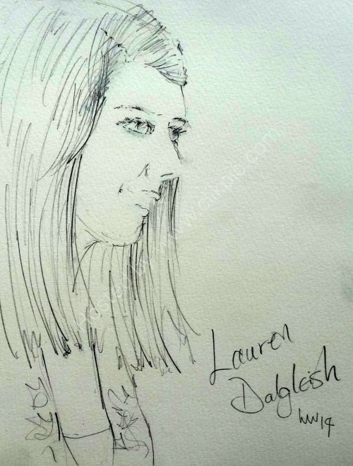 Lauren Dalgleish, 2014 Moniaive Folk Festival