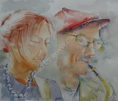 Kathy & John Dyson, Burgundy's 3 July 2014