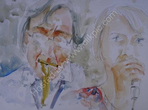 Dave Lee and Fran Lee, Burgundy's Kendal 17 July
