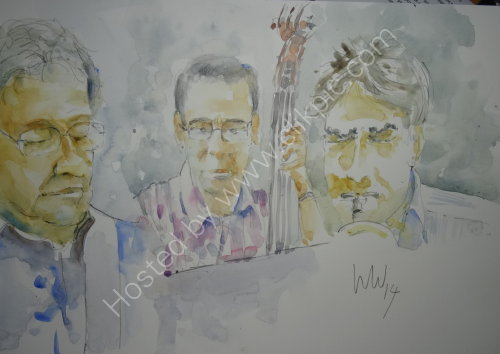 Mo Witham, Rob Steels & Tim Barty, Burgundy's Kendal,18 Sept 2014
