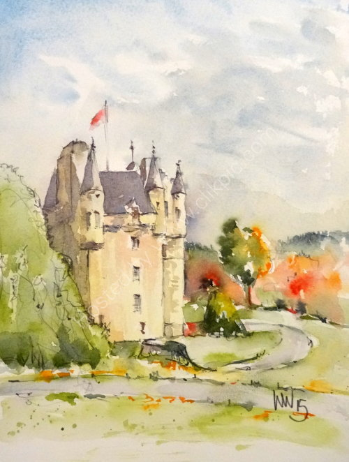 Fraser Castle, Aberdeenshire 2015