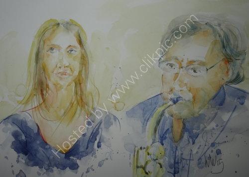 Charlotte Dalton & Dave Lee of Quay Change on 19 Nov 2015