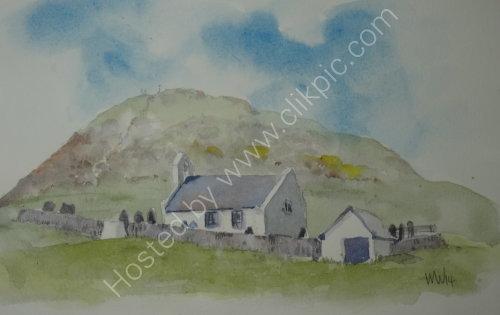 Eglwys y Grog, near Mwnt, Cardiganshire