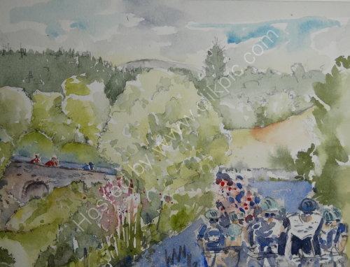 Tour of Britain 2016, Dumfries shire
