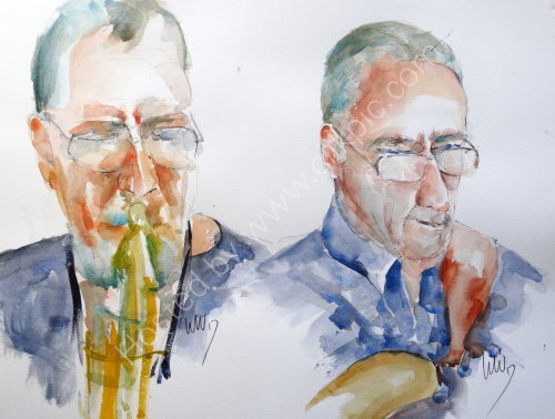 Stuart Johnson & Laurence Canty of  Quincy Street Quintet 10 Aug 2017