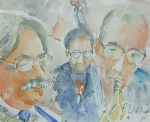 John Woodhouse Quartet Burgundy's 7 Feb