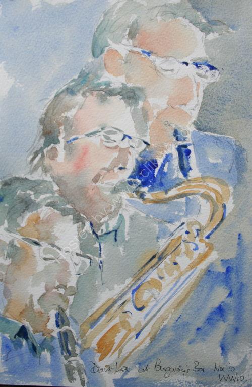 Dave Lee at Burgundy's Nov 2010