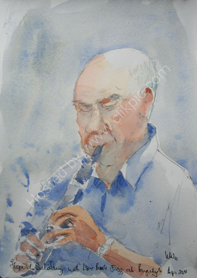 Harold Salisbury at Burgundy's April 2011