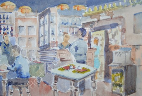 Cafe, Florence