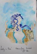 "Fresco, ""Lady in Blue"", Knossus, Crete"