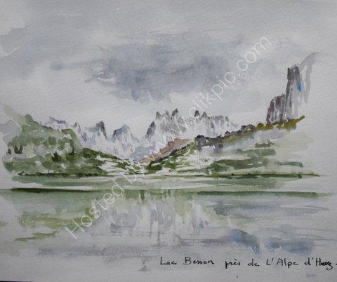 Lac Besson pres de L'Alpe d'Huez, 2007