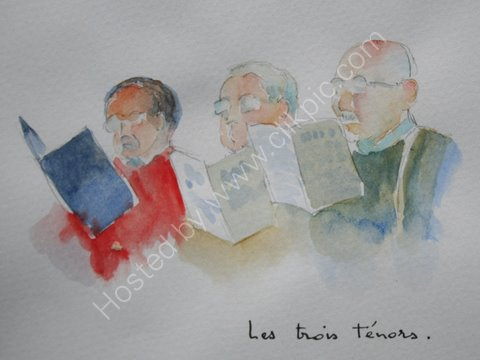 Les trois tenors, 2007