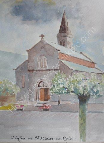 L'eglise, St Blaise du Buis