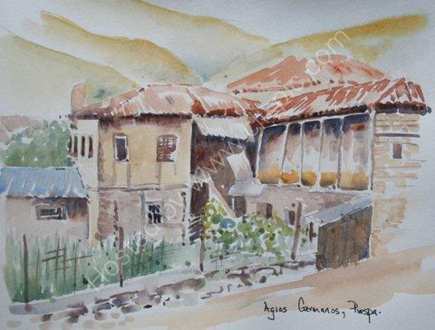 Agios Germanos, Prespa, Greece