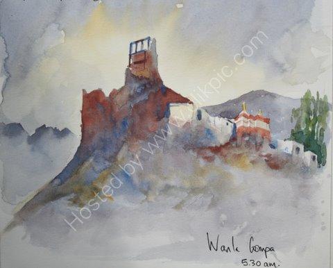 Wanla Gompa, Ladakh