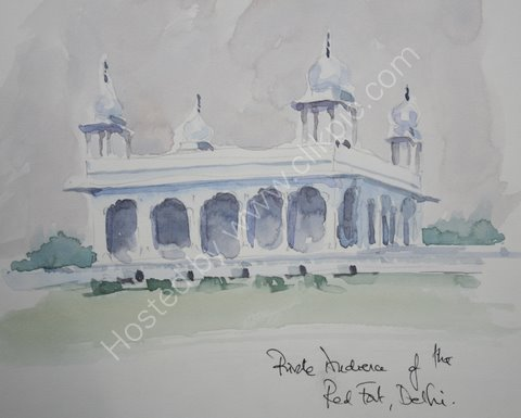 Private Audience of the Red Fort, Delhi