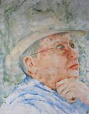 Martin Jones, farmer, near Trelew, Patagonia