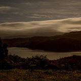 Moonlight over loch Garry