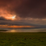Sunset over Stroma