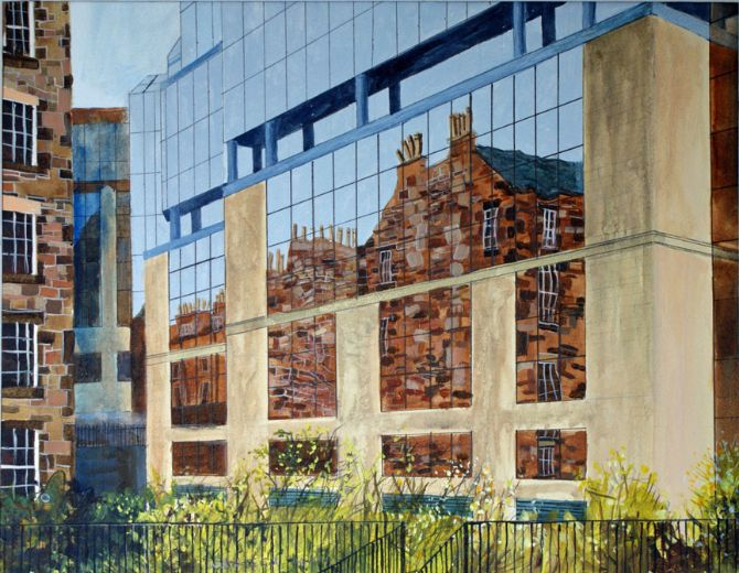Building Reflections Edinburgh
