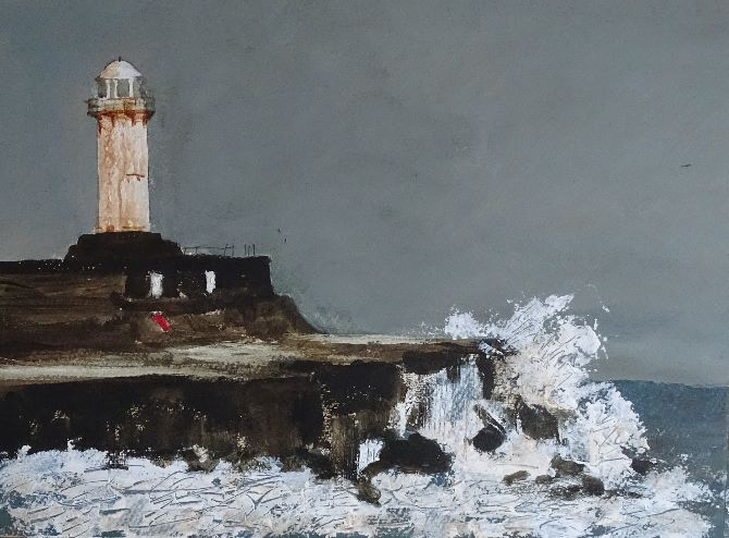 Redcar Lighthouse April 018