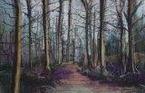 Woodland Landscape - Pastel 2