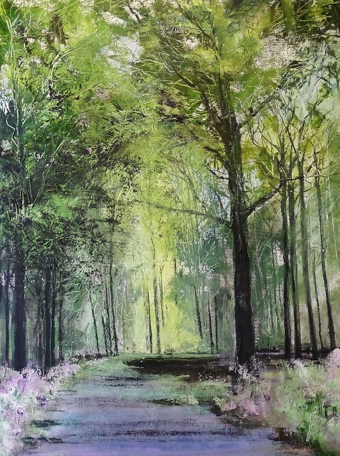 Woodland Landscape 2016 No 5