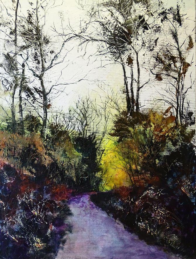 Woodland Landscape 2016 No 6