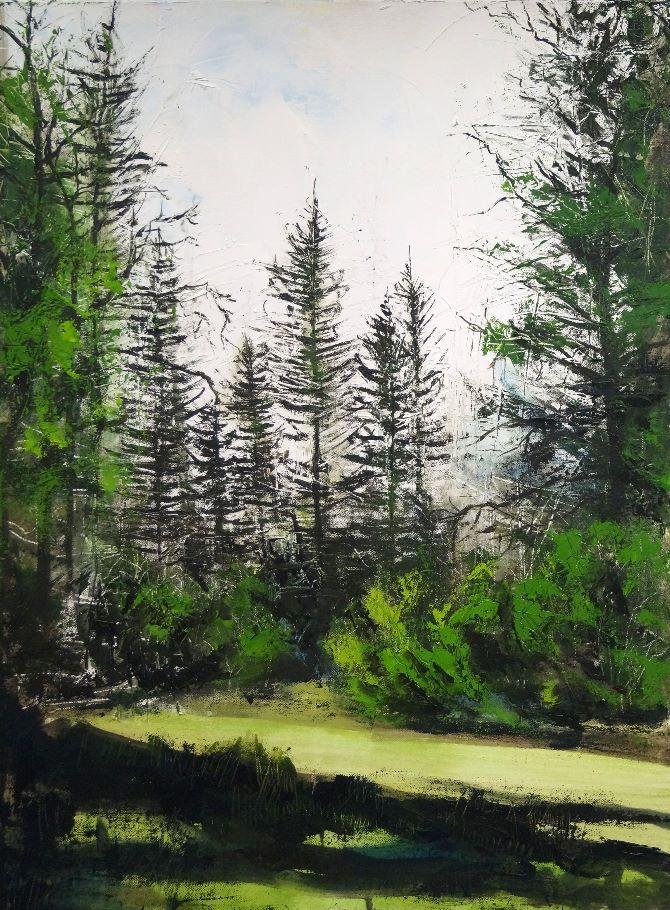 Woodland Landscape 2016 No 9