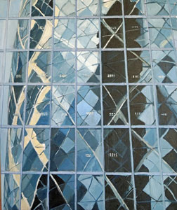 Building-Reflections---of-the-Gherkin