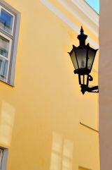 A side street in Tallin, Estonia